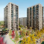 £12.7m HSBC UK Green Loan for new development by Notting Hill Genesis and Transport for London in Kidbrooke